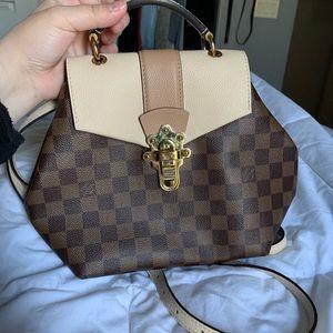 0ae6073d88ae Black saddlebag crossbody purse.  10  0. Louis Vuitton Clapton Backpack